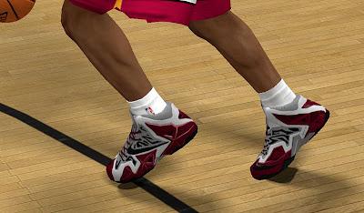 NBA 2K13 Nike LeBron 11 RGB Shoes Patch
