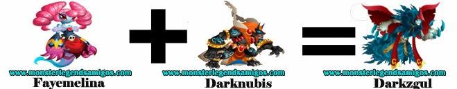 como obtener el monster darkzgul en monster legends formula 1