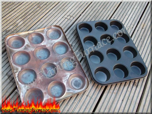 muffin tray for aluminum ingots