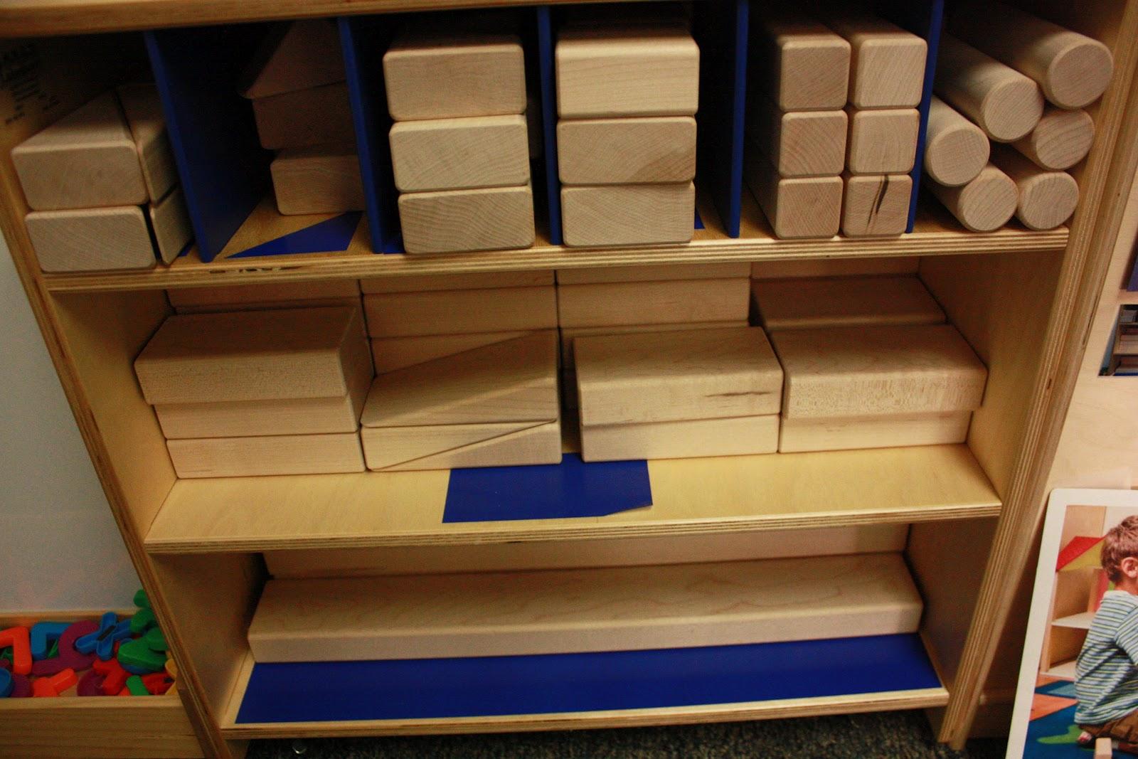Preschool Classroom Block Area