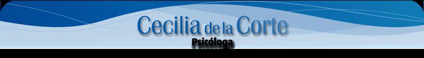 Psicóloga - Cecilia de la Corte
