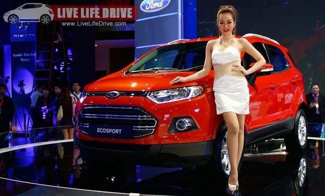 khẳng định vị thế là dòng xe hiện đại của chiếc Ford Ecosport