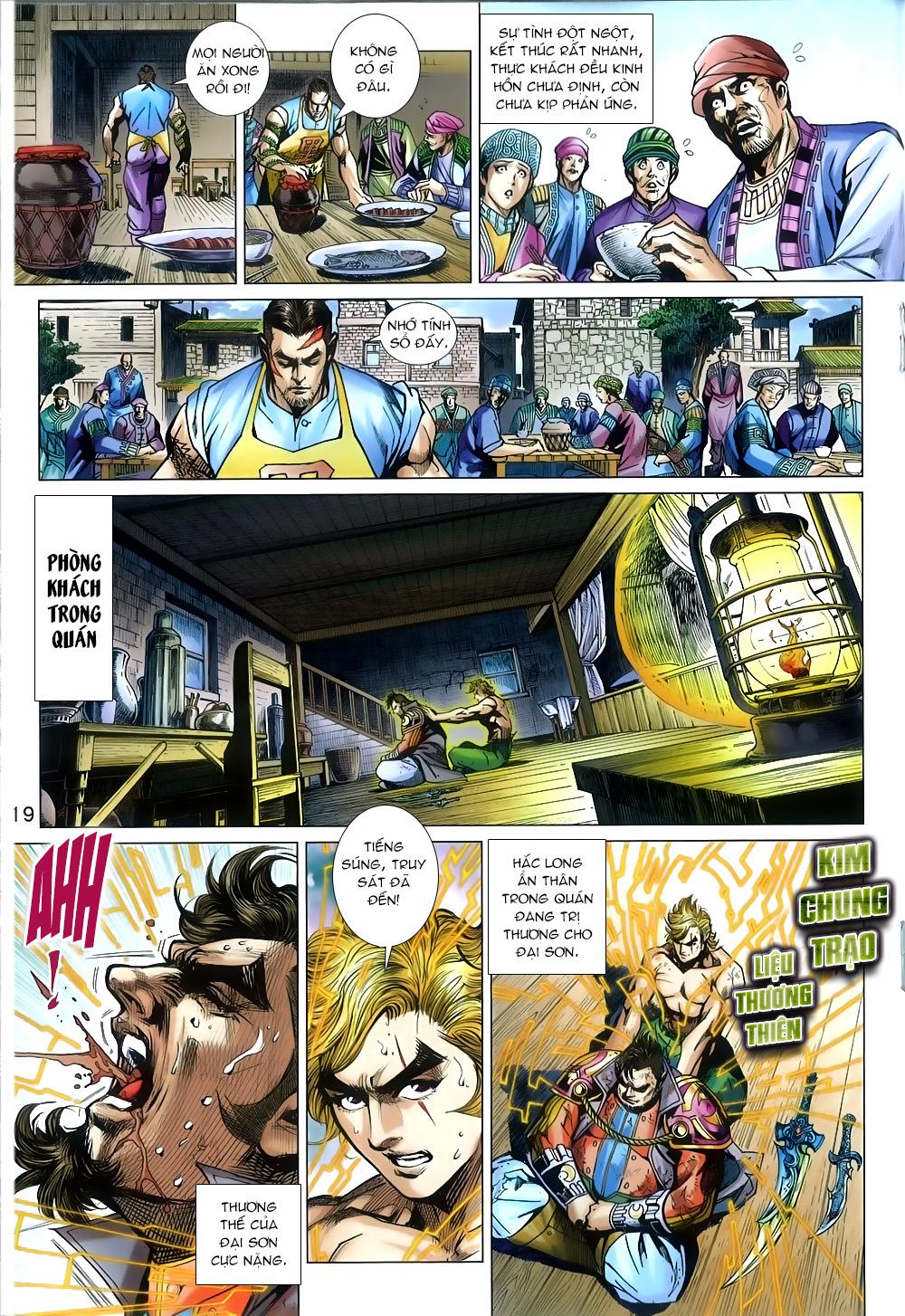 Tân Tác Long Hổ Môn chap 812 Trang 19 - Mangak.info