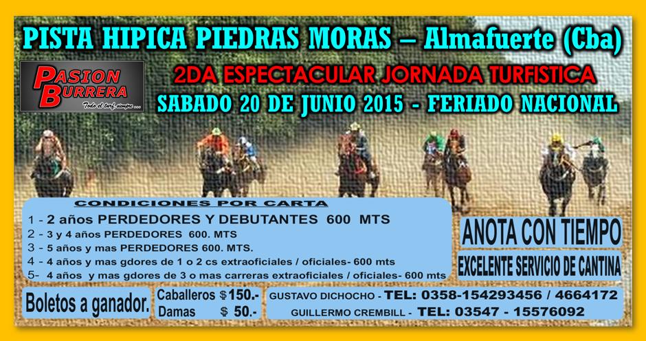 PIEDRAS MORAS - 20 DE JUNIO