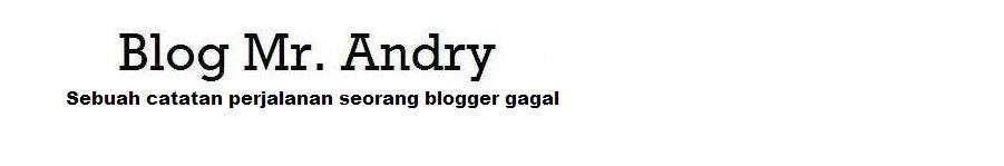 Blog Mr. Andry