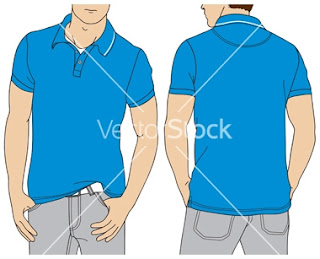 PoloShirt Sample Template by Vector Stock (www.maxginez3.com)
