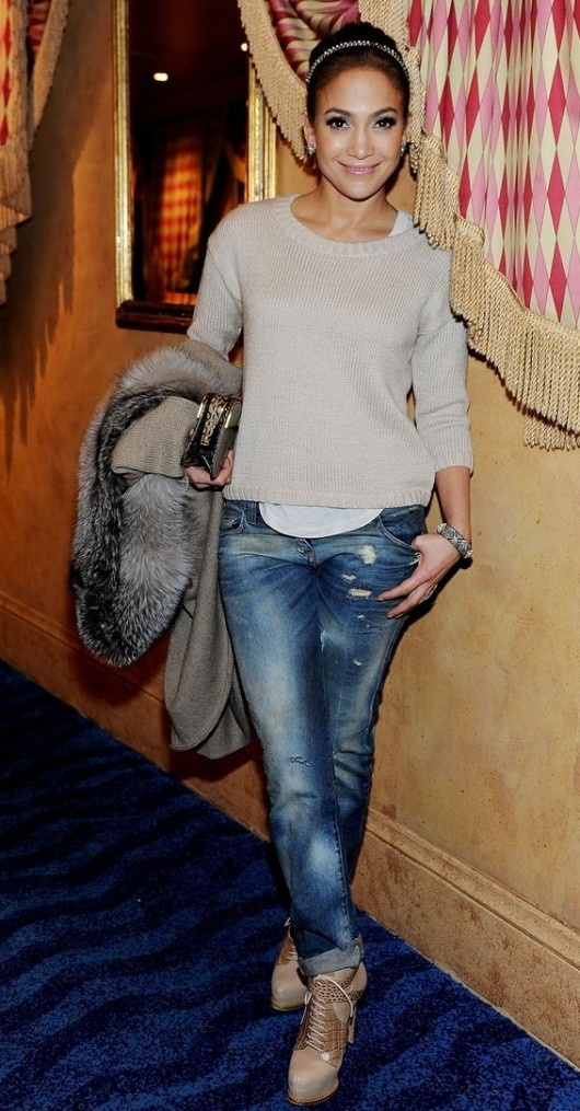 Monday Street Style Jennifer Lopez Fashionista Part