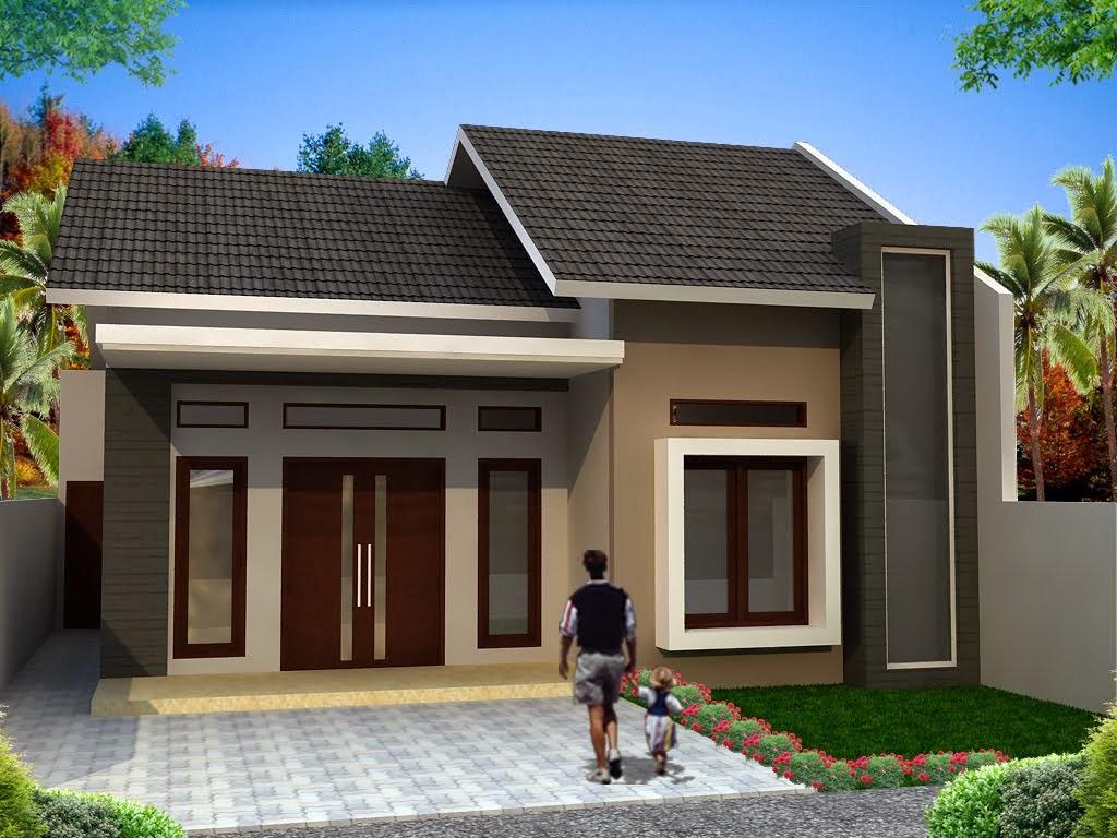 bentuk rumah kayu sederhana
