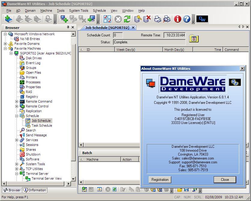 dameware remote portable