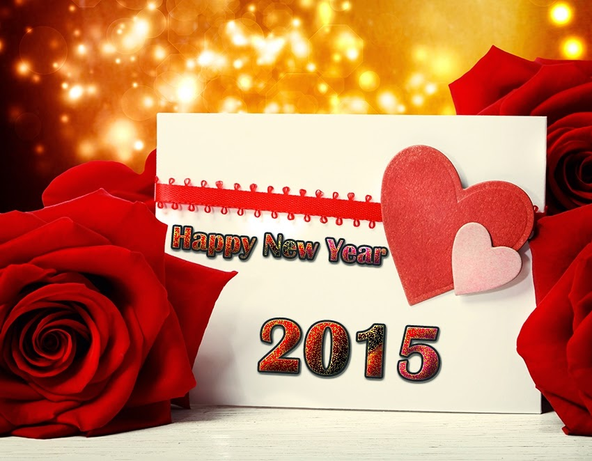 Beautiful Lovely Happy New Year Shining Wallpapers 2015