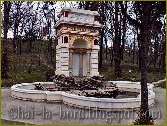 Fantana Cantacuzino Parc Carol
