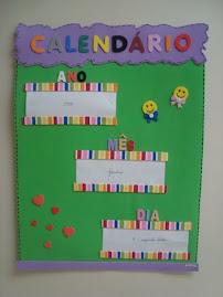 Calendário - ano, mês e dia