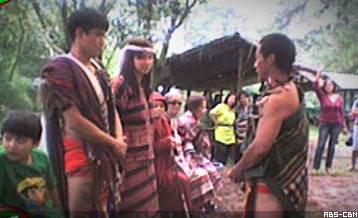 Igorot traditional wedding dress