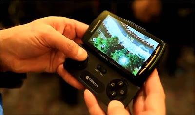Acessório transforma smartphones em video games portáteis