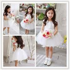 baju pesta anak korea perempuan umur 5 tahun