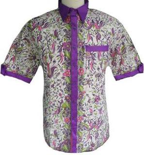 Model Baju Batik Modifikasi Pria Terbaru 2016