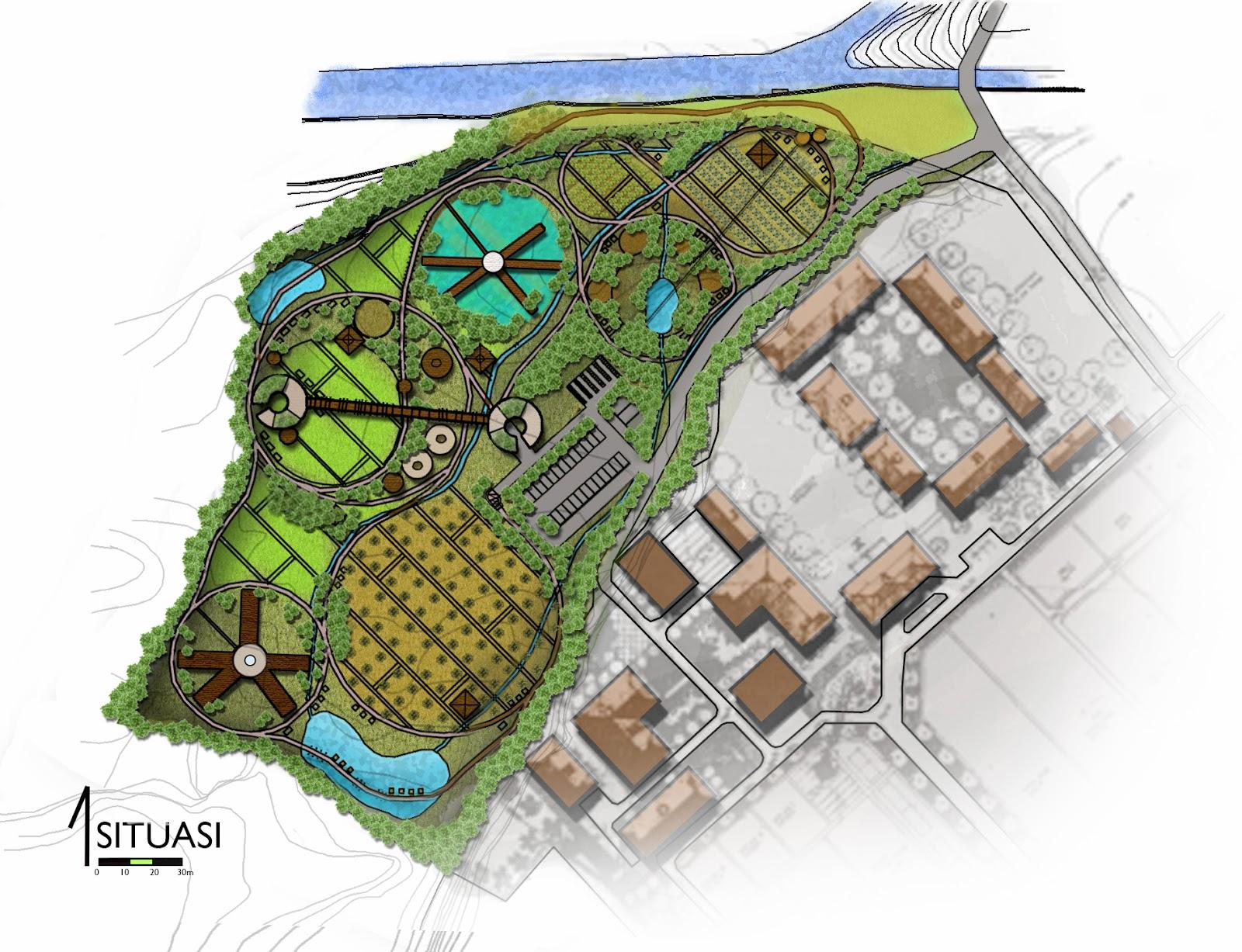 Inspirasi Desain Taman Tematik 2017