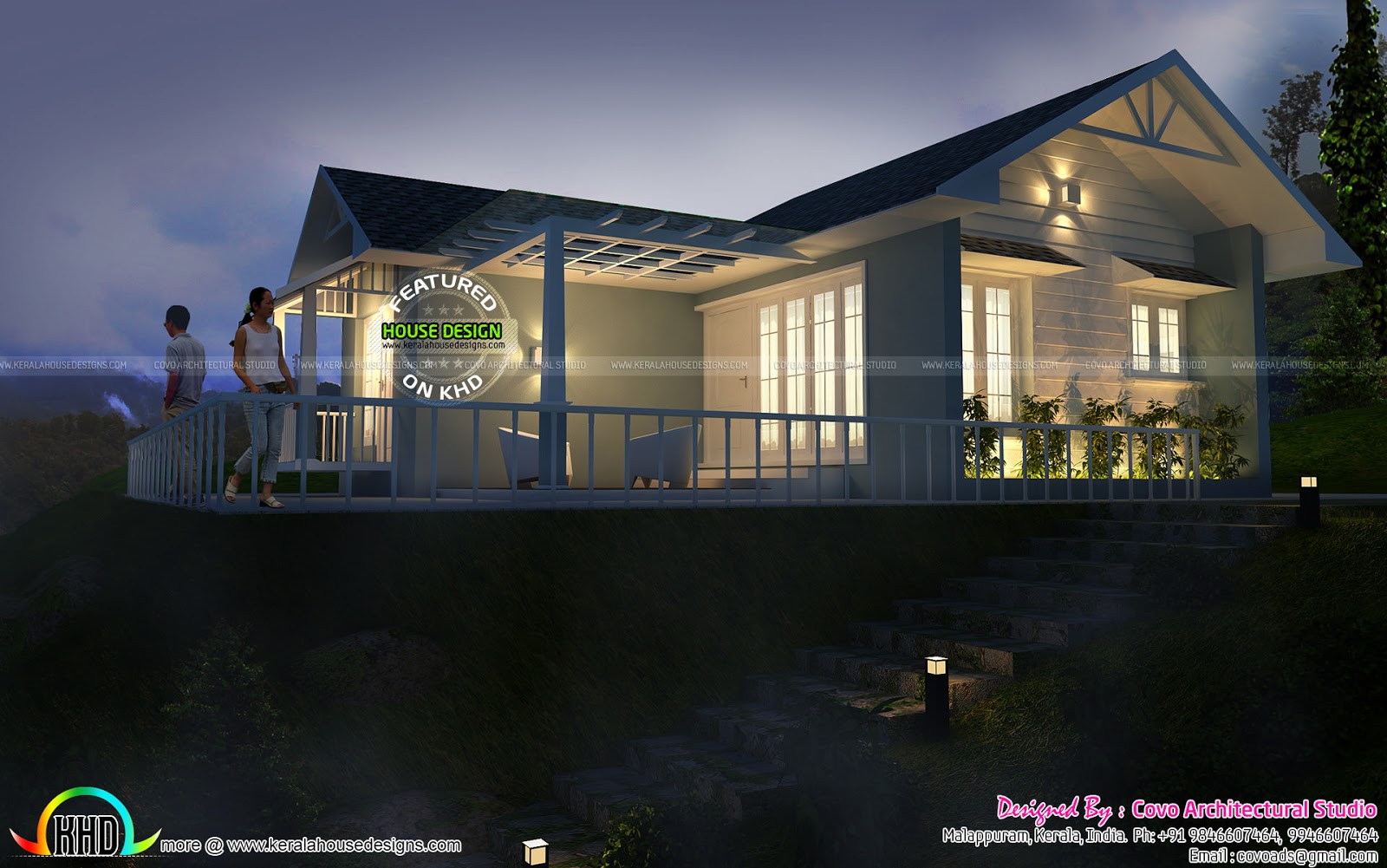 budget house in 750 square feet kerala home design and