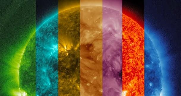 Vídeo lindo da NASA mostra o sol em diferentes comprimentos de onda (com video)