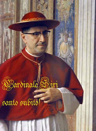 Giuseppe Cardinal Siri (20 May 1906 – 2 May 1989)
