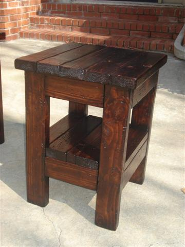 Woodwork Small End Table Plans PDF Plans