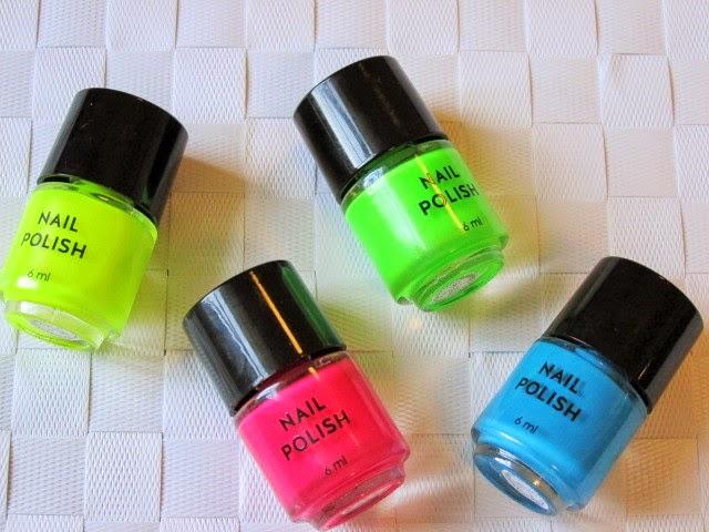 Primark-Neon-Nail-Polish