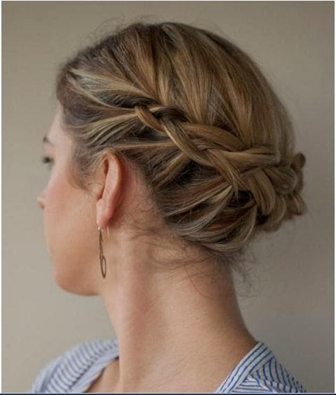 Cute updos for short hair pinterest