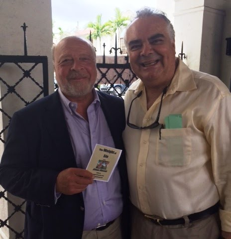 With Nelson DeMille