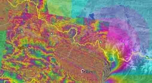 Agen Poker Domino Capsa - Efek dari gempa, daratan Kathmandu naik hingga 1 meter. Kenaikan itu dilansir lewat citra satelit Sentinel-1a.