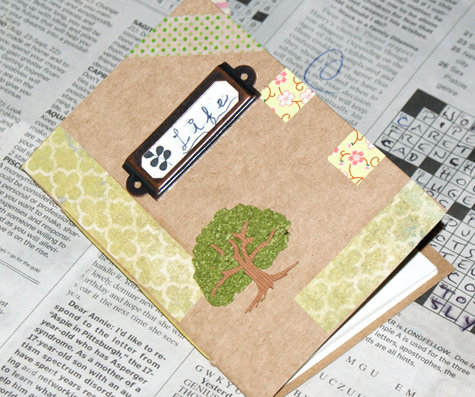 DIY Washi Tape Life Journal