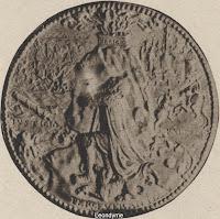 Achterzijde van de medaille van Jan Scheyfve 1515-1581