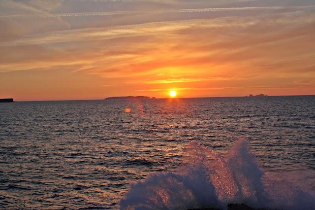 Sonnenuntergang Baleal