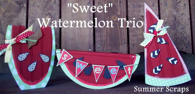 Watermelon Wood Craft