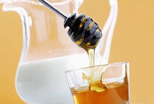 Susu dan madu murni