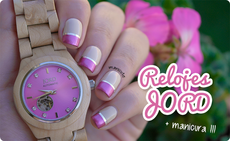 maple & lavender jord watches