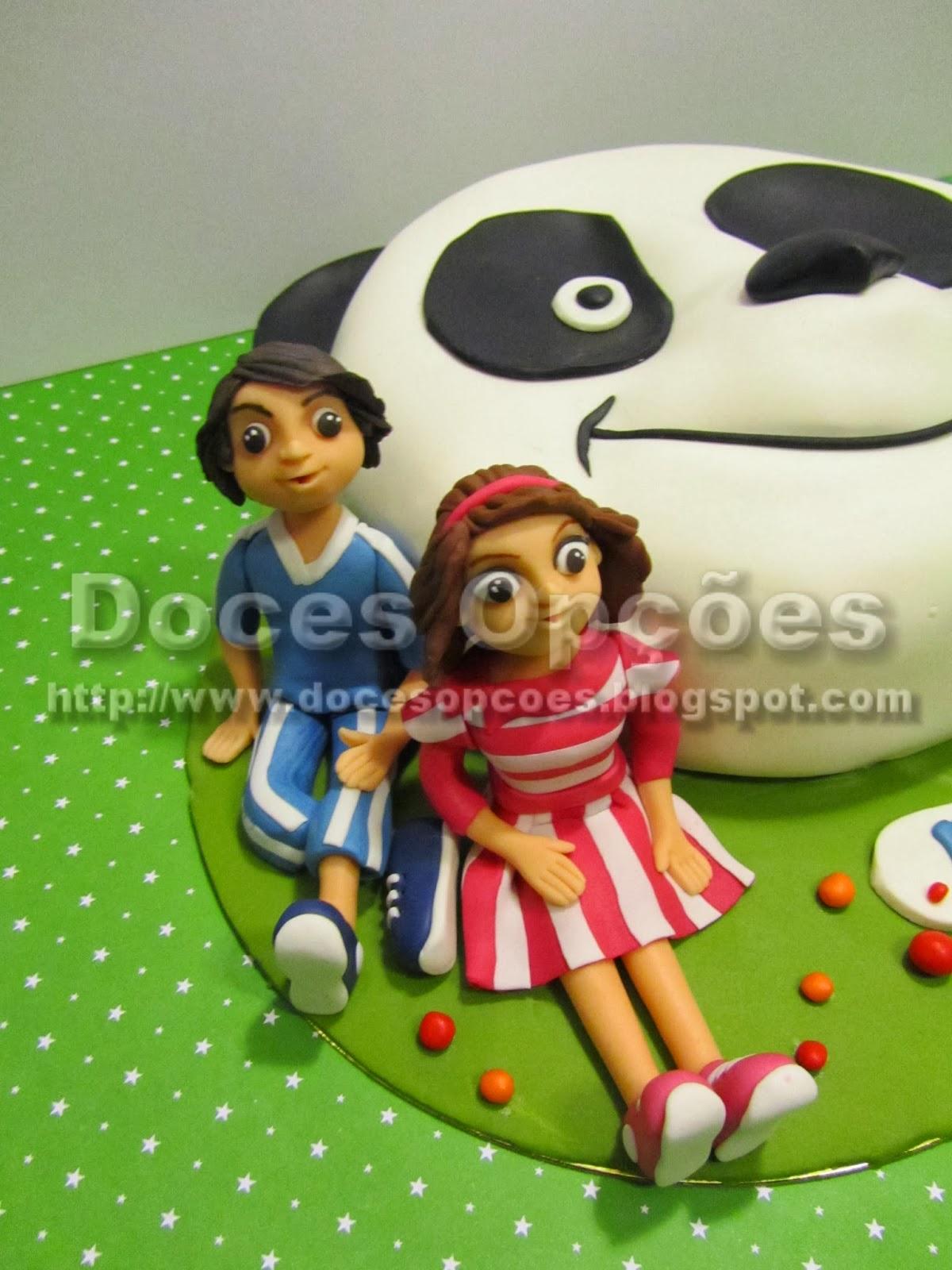 bolo aniversário caricas