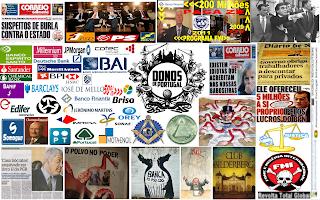 Máfia, Portuguesa, Bancos, Políticos, Artistas, Poder, Associados, Interesses, Financeiros, Negócios, Político, Familiares, Polvo, Donos de Portugal, Povo, Exploração, Pátria,  Portugal, Lusa, BES, BCP, BPI, Bilderberg, Maçonaria,