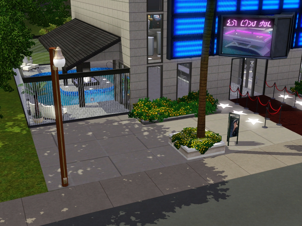 my sims 3 blog the haute place private show venue by my