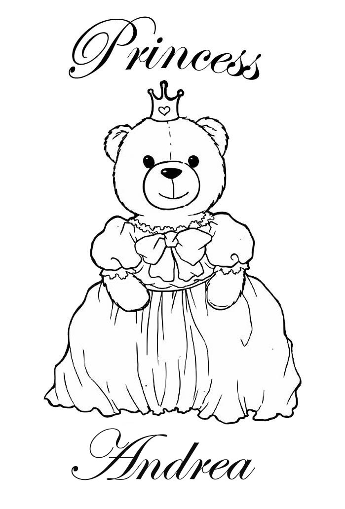CLICK ON ANY IMAGE TO SEE IT FULL SIZE AND PRINT OR SAVE These Personalised Coloring Pages