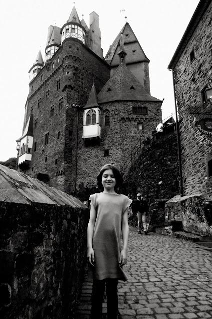 Anywhere dress at Burg Eltz