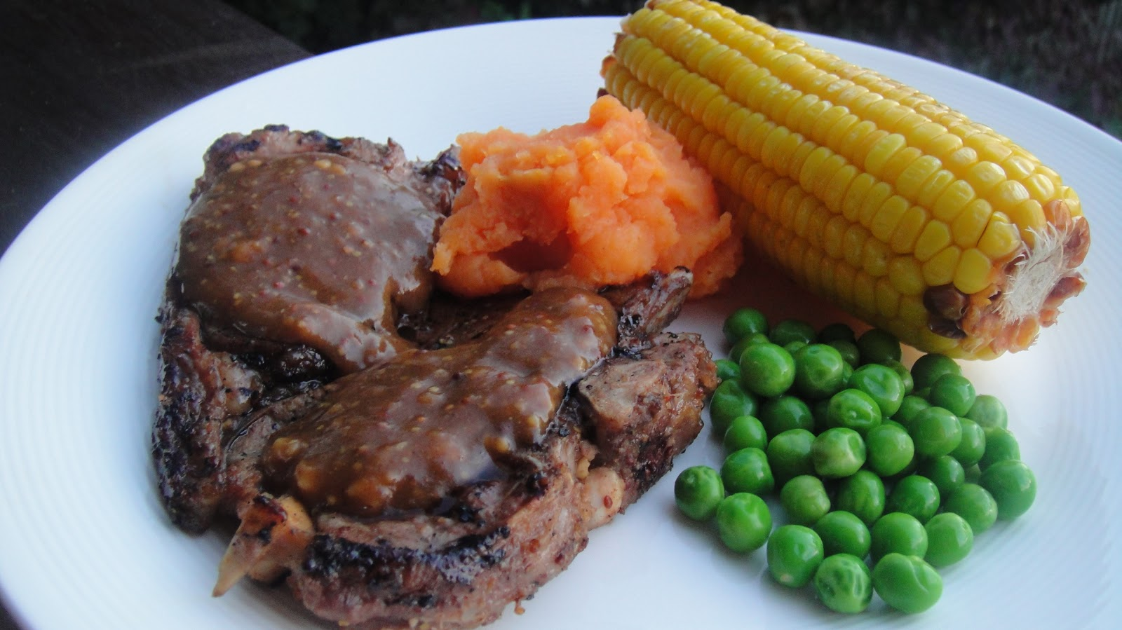 Mums in the Kitchen: Marinated Lamb Chops