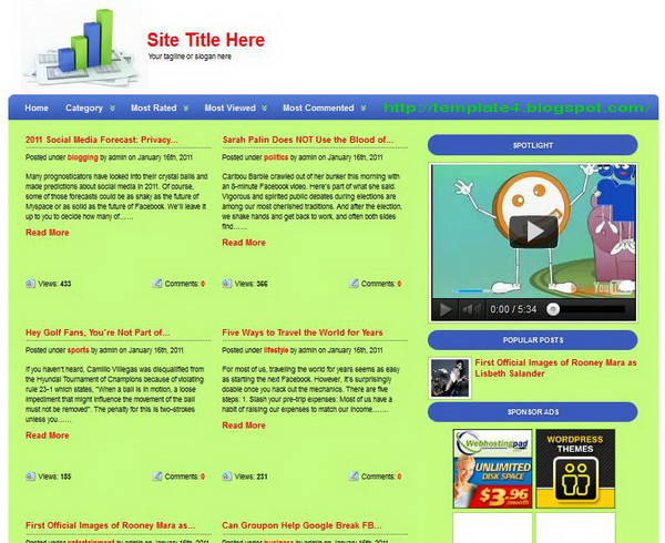 Xubat WordPress Theme