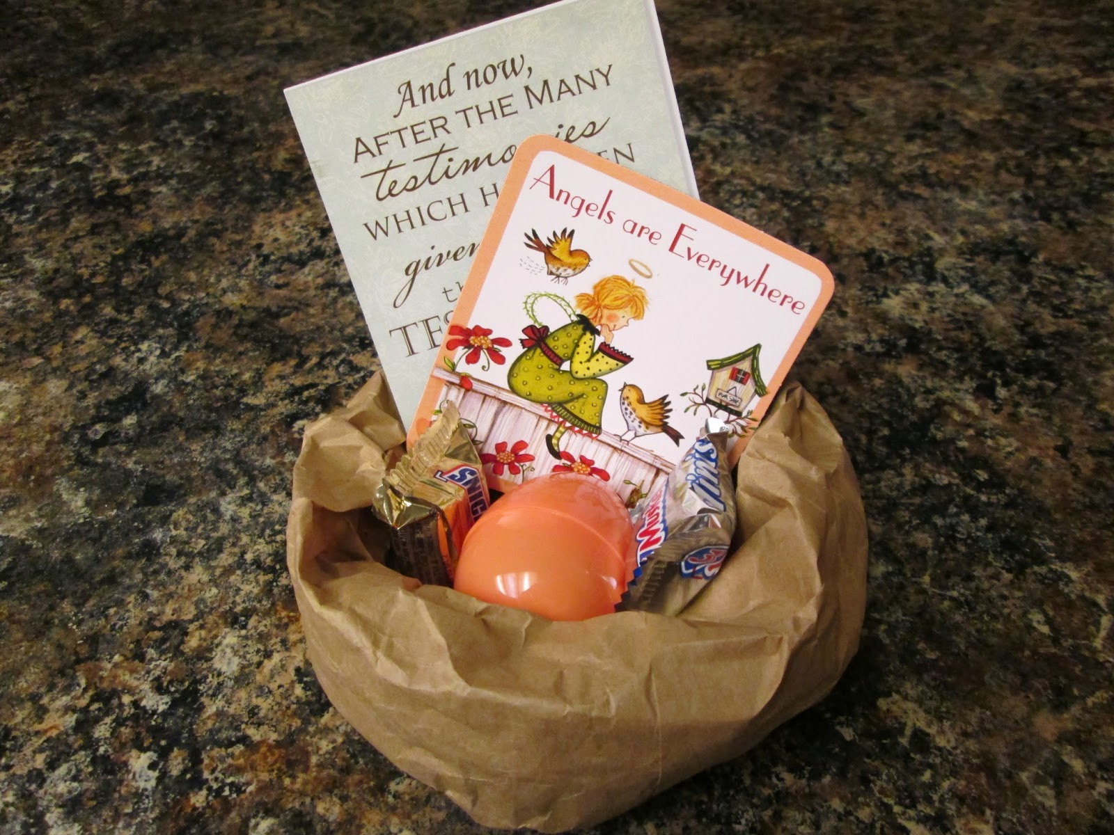 Happy clean living visiting teaching easter gift visiting teaching easter gift negle Image collections