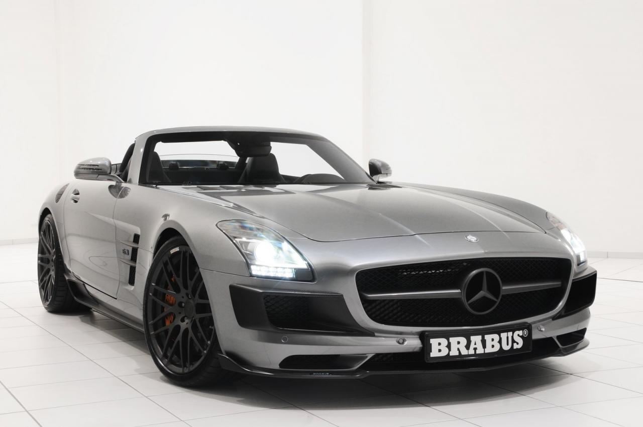 mercedes benz sls amg roadster by brabus car tuning styling. Black Bedroom Furniture Sets. Home Design Ideas