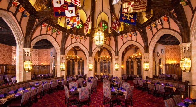 Restaurante Cinderella's Royal Table Disney
