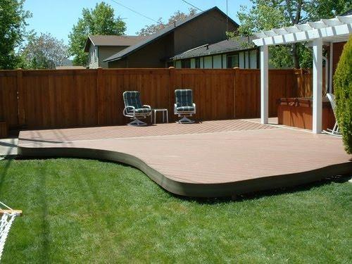 Deck Design Ideas Trex Decking Prices Look Beyond The