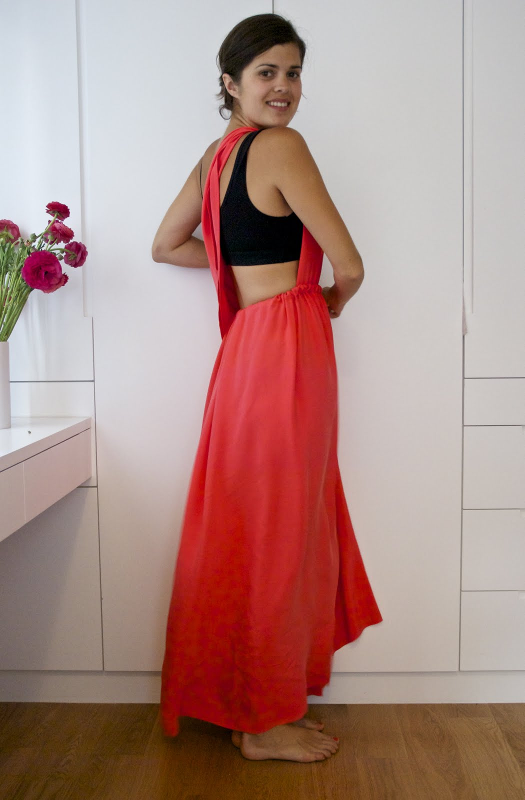 Diy Side Split Wrapped Bodice Dress The Tutorial A Pair A Spare