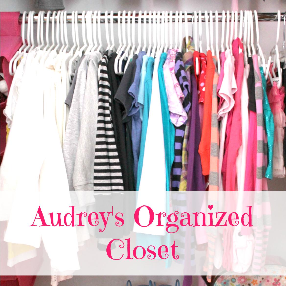 Audrey's Closet Makeover