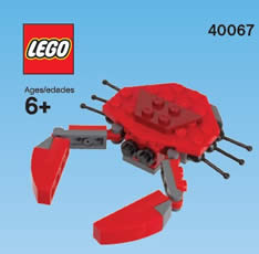 Free LEGO Crab Mini Model Build at LEGO Stores on July 2