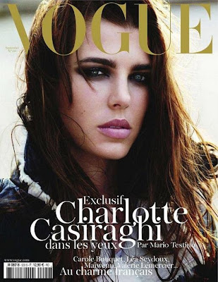 Charlotte Casiraghi para Vogue Francia